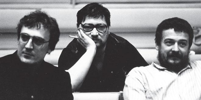 صحنهای از تنها مستند فاسبیندر با نام «تئاتر در خلسه»، دربارهی فستیوال تئاتر جهان، ژوئن ۱۹۸۱